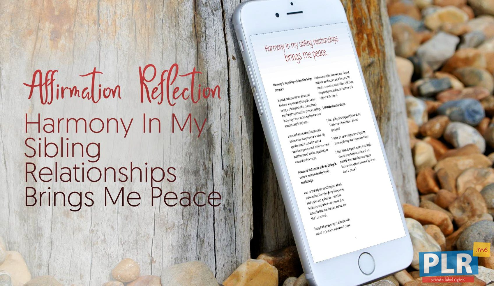 Harmony In My Sibling Relationships Brings Me Peace
