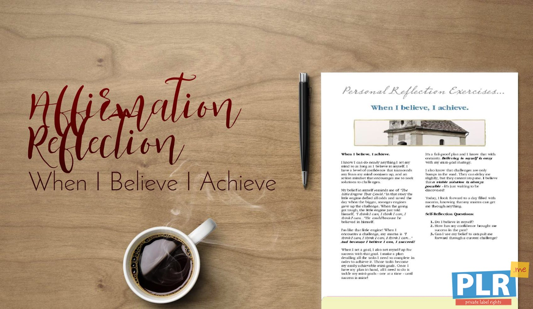 When I Believe I Achieve